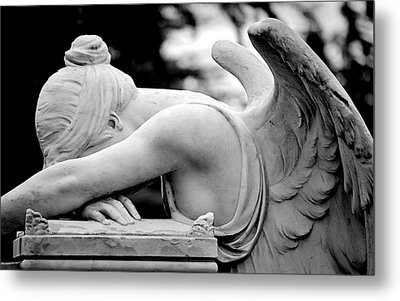 Weeping Angel Metal Print by AJ  Schibig