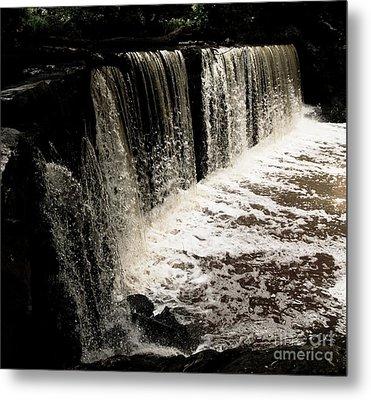 Weeping Falls Metal Print by Scott Allison