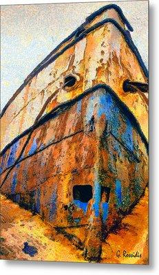 Weeping Ship Metal Print by George Rossidis