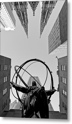 Weight Of The World Metal Print by Michael Dorn