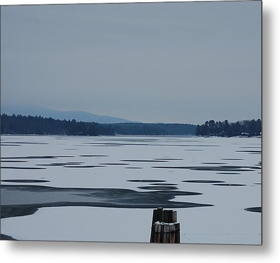 Metal Print featuring the photograph Weirs Beach Nh Almost by Mim White