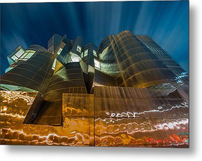 Weisman Art Museum Metal Print by Mark Goodman