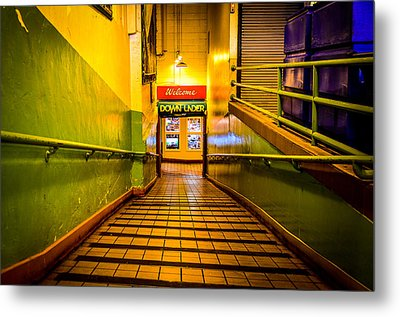 Welcome Down Under Metal Print by Brian Xavier