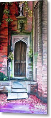 Metal Print featuring the painting Welcome Home by Bonnie Heather