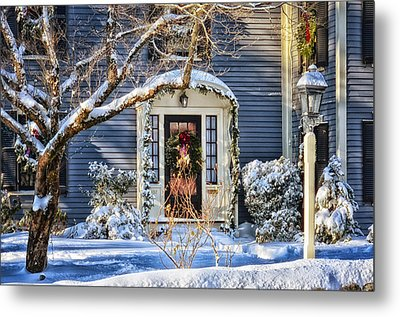Welcome Home Metal Print by Tricia Marchlik