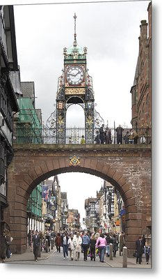 Welcome To Chester Metal Print by Mike McGlothlen