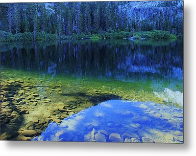 Metal Print featuring the photograph Welcome To Eagle Lake by Sean Sarsfield