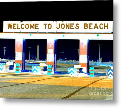Welcome To Jones Beach Metal Print