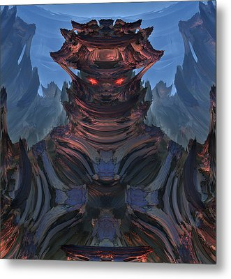 Welcome To My Planet Metal Print