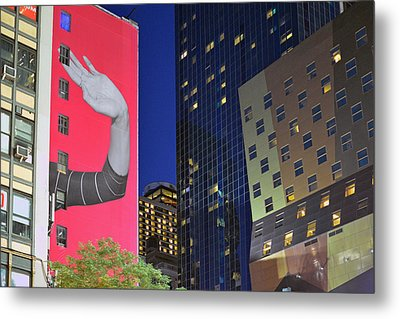 Welcome To New York Metal Print