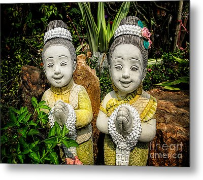 Welcome To Thailand Metal Print by Adrian Evans