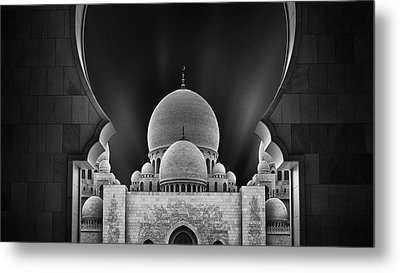 Welcome To The Mosque Metal Print