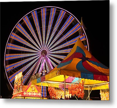 Welcome To The Nys Fair Metal Print by Richard Engelbrecht