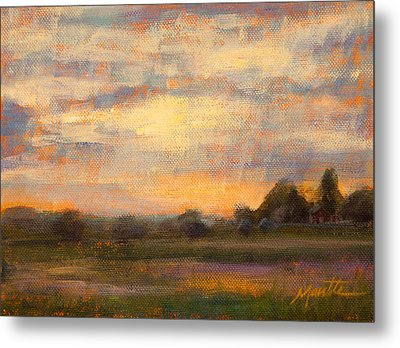 Weld County Metal Print by Athena  Mantle