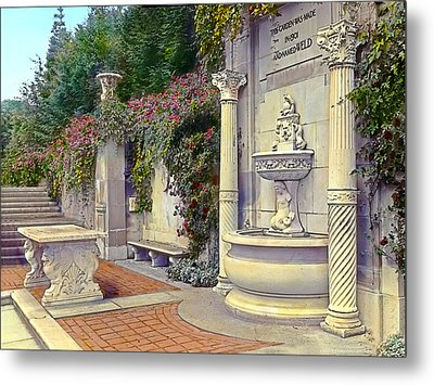 Weld Garden Metal Print by Terry Reynoldson