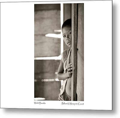 Metal Print featuring the photograph Weldi Brooks by Tina Manley