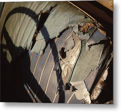 Metal Print featuring the photograph Well Worn Seat by Christopher McKenzie