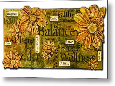 Wellness Metal Print