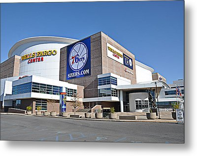 Wells Fargo Center Metal Print