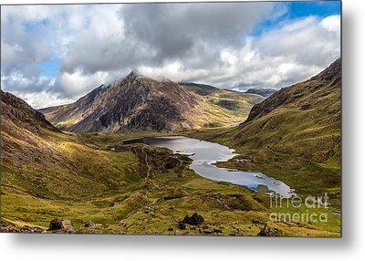 Welsh Mountains Metal Print by Adrian Evans