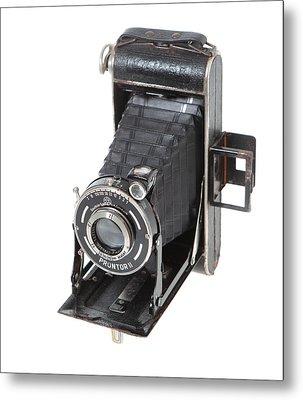 Welta Garant German Camera Metal Print by Paul Cowan