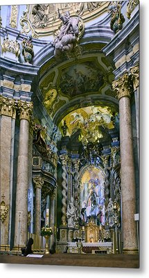 Weltenburg Abbey  II Metal Print