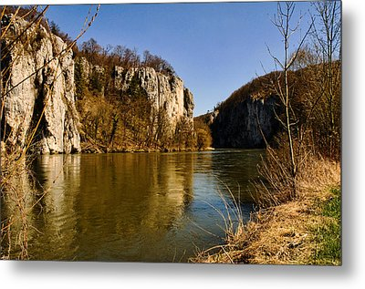 Weltenburg Narrows Metal Print