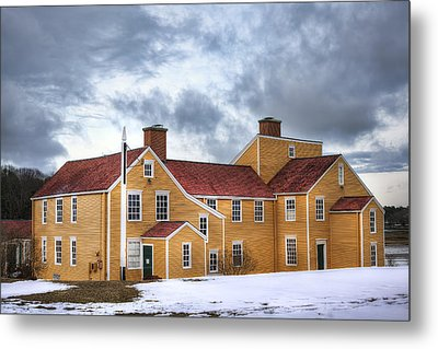Wentworth Coolidge Mansion Metal Print by Eric Gendron