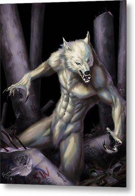 Werewolf Metal Print by Bryan Syme