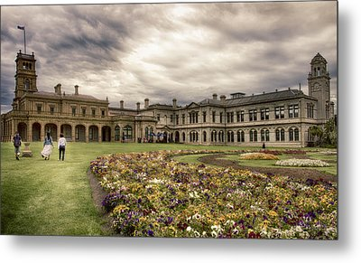 Metal Print featuring the photograph Werribee Mansion by Kim Andelkovic