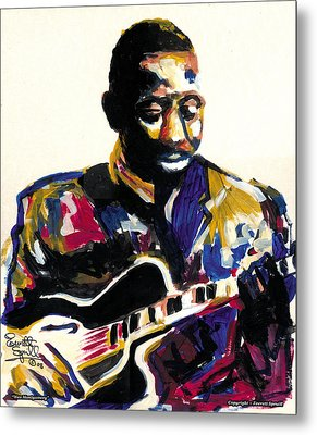 Wes Montgomery Metal Print by Everett Spruill