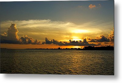 West Bay Sunset Metal Print