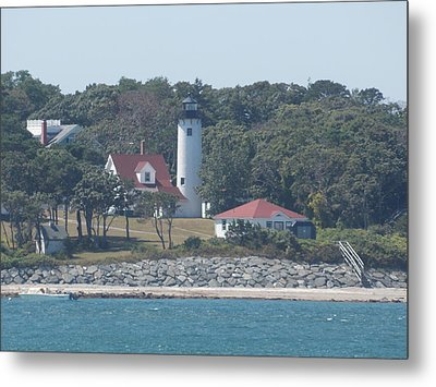 West Chop Lighthouse Metal Print by Catherine Gagne