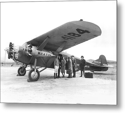 West Coast Air Transport Co. Metal Print by Underwood Archives