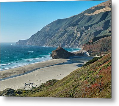 Metal Print featuring the photograph West Coast Serenity by Rob Wilson