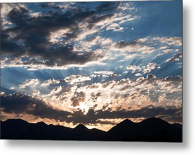 West Elk Mountains Morning Metal Print