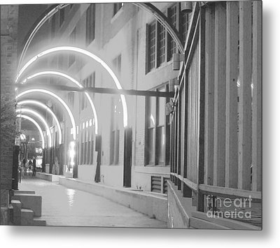 West End Archway Dallas Texas Metal Print by ARTography by Pamela Smale Williams