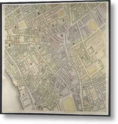 West End Metal Print by British Library