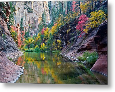 West Fork Serenity Metal Print by Guy Schmickle
