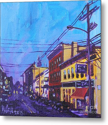 West Front Street Metal Print by Michael Ciccotello