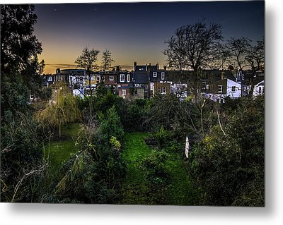 Metal Print featuring the photograph West Hampstead Sunset by Rob Tullis