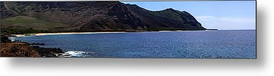 Metal Print featuring the photograph West Oahu Panorama by Rob Tullis