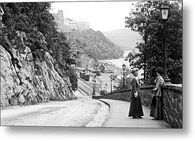 Metal Print featuring the photograph West Point New York 1914 Vintage Photograph by A Gurmankin
