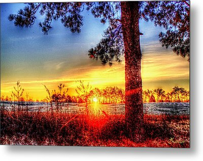 West Tennessee Sunrise Metal Print
