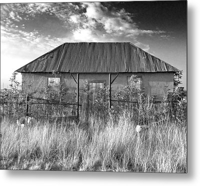 West Texas Decay Metal Print by Sonja Quintero