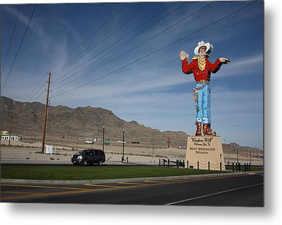 West Wendover Nevada Metal Print by Frank Romeo