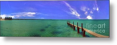 Metal Print featuring the photograph Western Australia Busselton Jetty by David Zanzinger