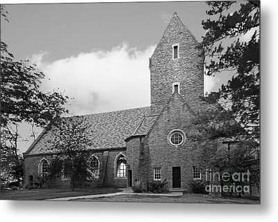 Western College For Women Chapel Metal Print by University Icons