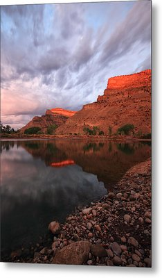 Metal Print featuring the photograph Western Colorado by Ronda Kimbrow