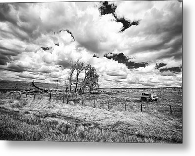 Metal Print featuring the photograph Western Kansas by Jay Stockhaus